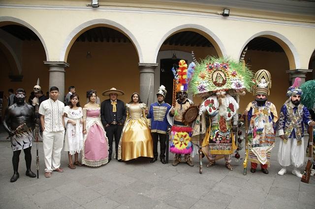 Candidatean al Carnaval de Huejotzingo ante la Unesco