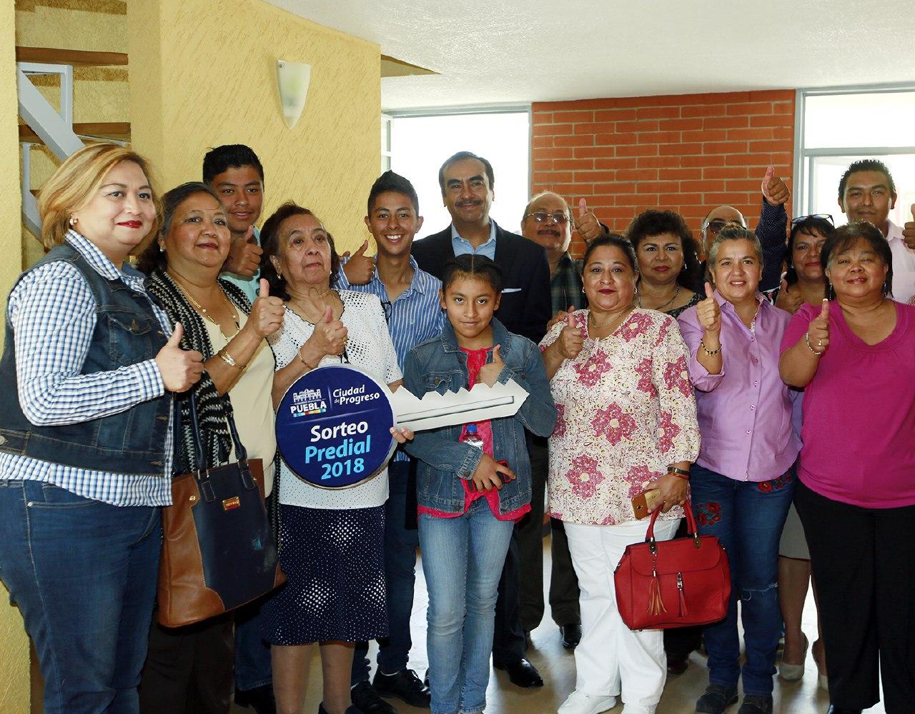 Concluye ayuntamiento de Puebla premiación del Sorteo Predial 2018