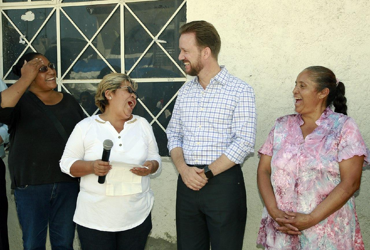 Vecinos y alcalde Puebla supervisan  acciones de seguridad en colonias