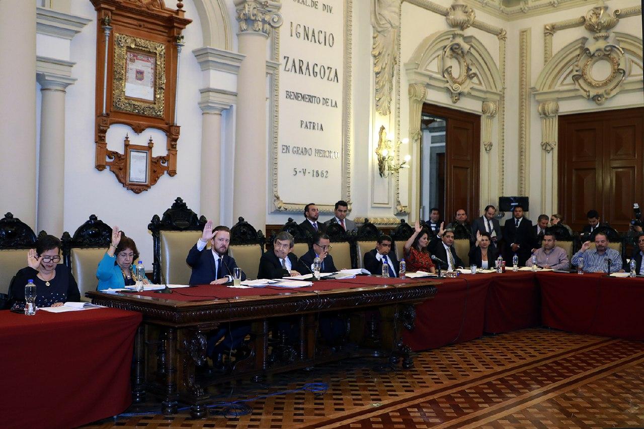 Cabildo de Puebla aprobó estado financiero del gobierno municipal