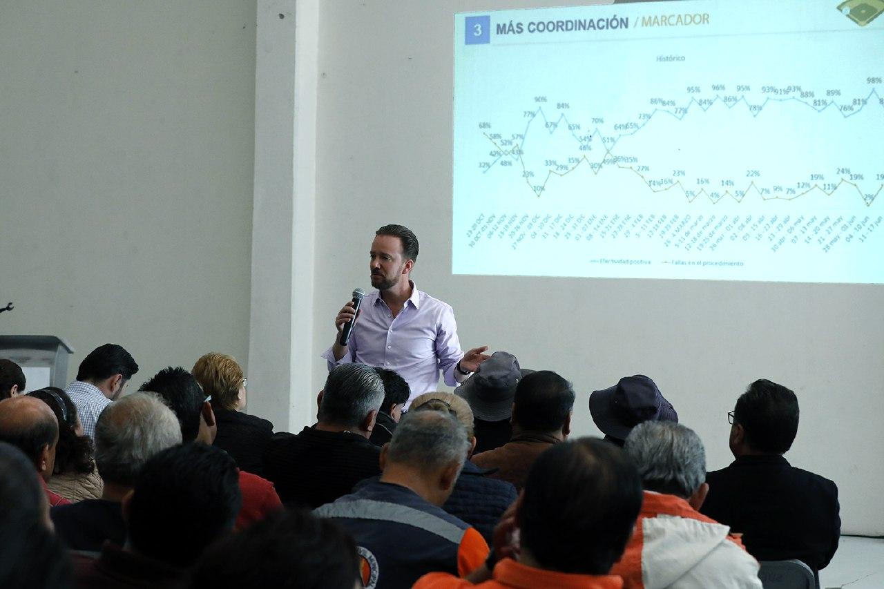 Alcalde de Puebla reconoce trabajo del personal sindicalizado