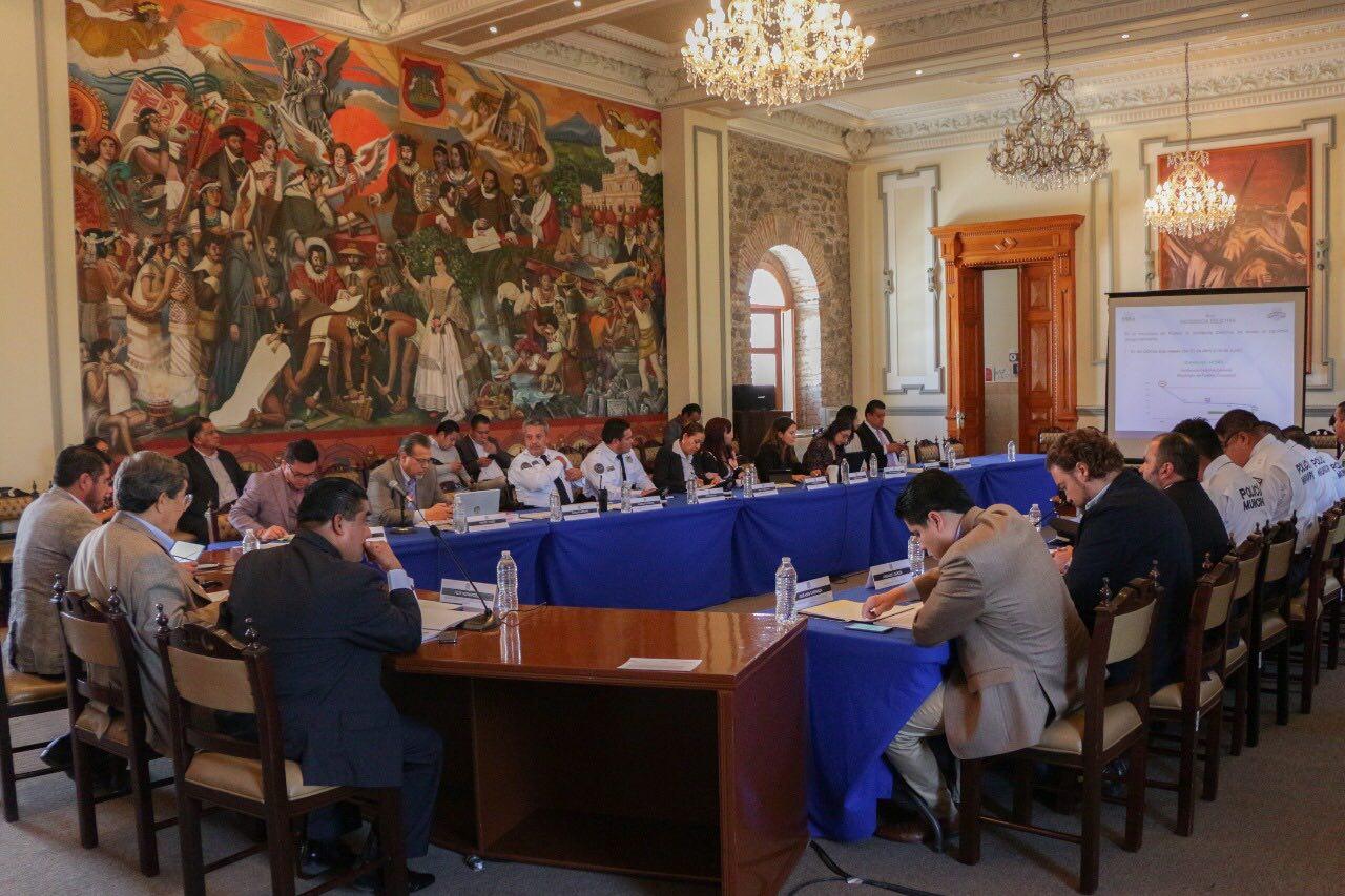 Analizan delitos en la capital en Mesa de Seguridad y Justicia