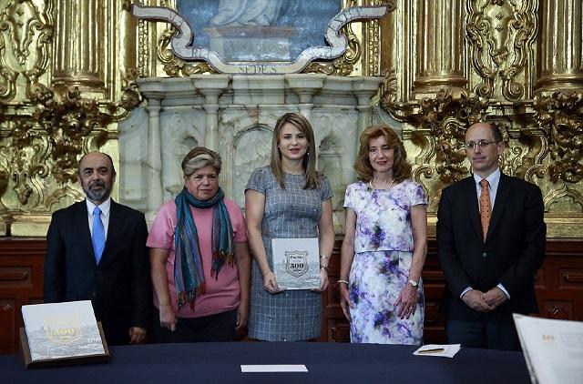 Presentan el libro Puebla: la Ciudad hacia los 500 años