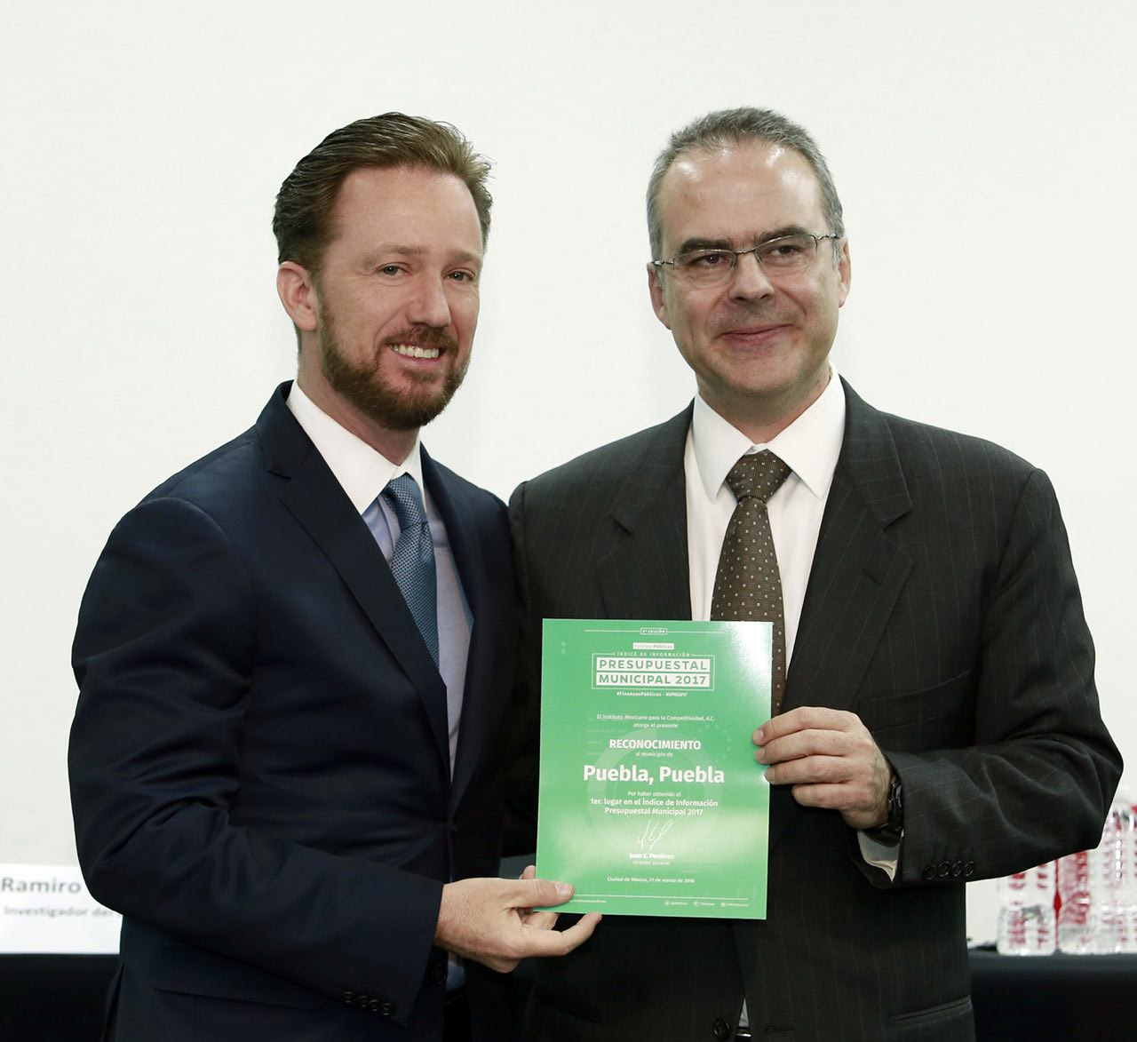 Es Puebla capital 1er lugar nacional en transparencia: IMCO