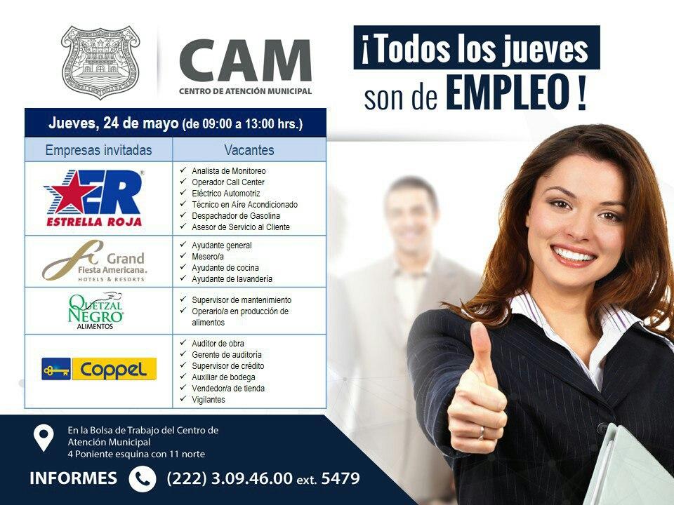 Abre el ayuntamiento bolsa de trabajo en Puebla capital