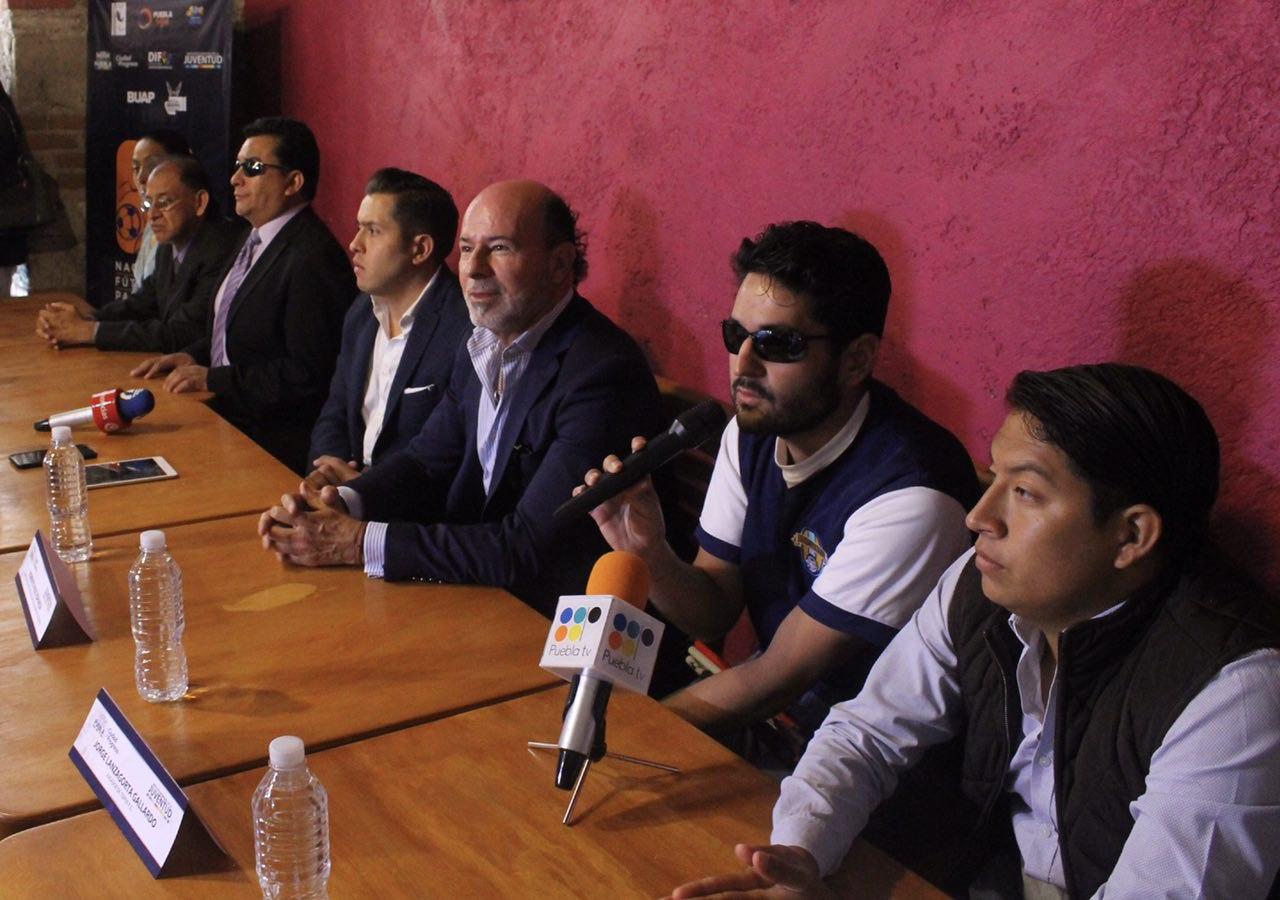 Puebla, sede del Nacional de Fútbol Sala para Ciegos 2017