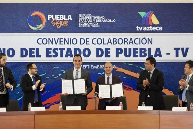 Gobierno de Puebla y Grupo Salinas colaboran en generación de empleos