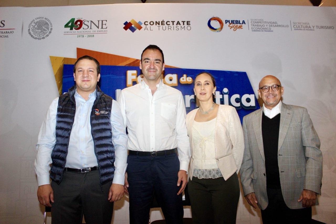 Realizan la primera Feria de Empleo Turística Puebla 2018