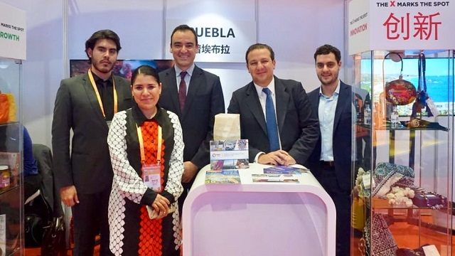 Participa puebla en la Exposición de Importación de China