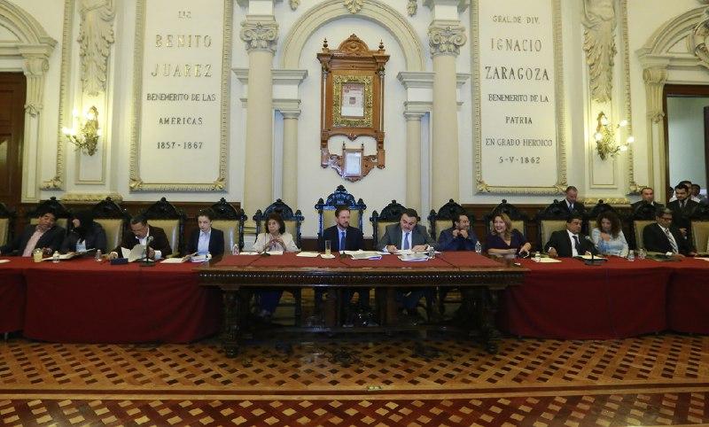 Aprueban calendario de Sesiones Ordinarias de Cabildo de Puebla