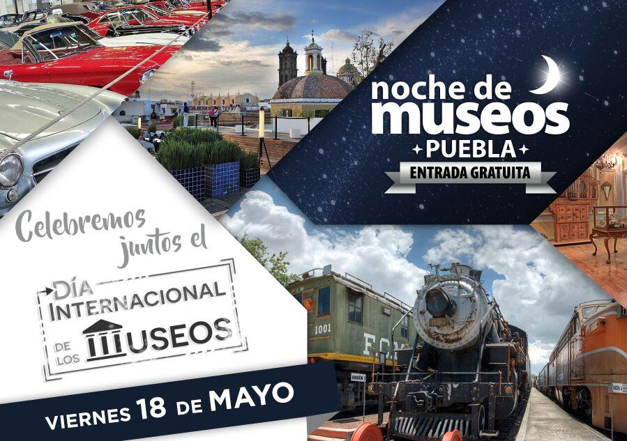 Este 18 de mayo hay Noche de Museos gratuitos en Puebla