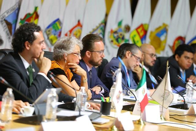Banck presenta la Mesa de Seguridad en la Conferencia Nacional de Justicia