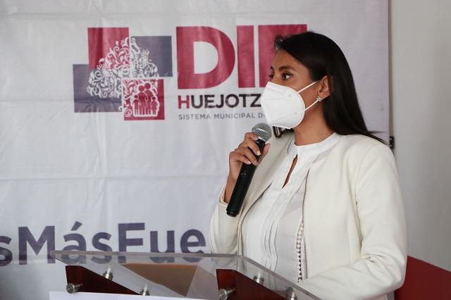 Reparten casi 10 mil despensas por contingencia en Huejotzingo