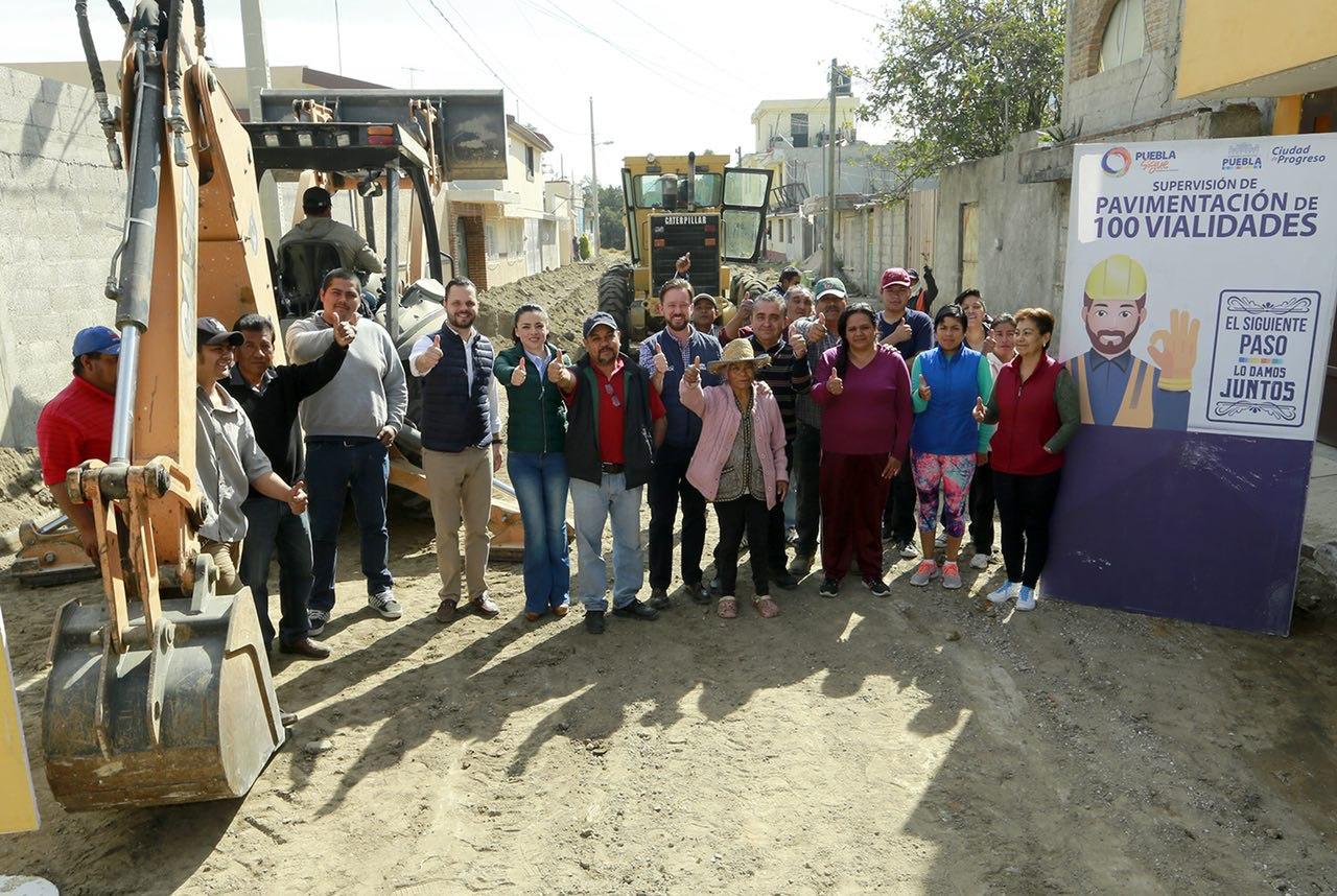 Banck: pavimentación mejora la vida a vecinos del norte de la capital