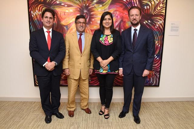 Banck y Rivera presentan proyectos estratégicos ante el BID
