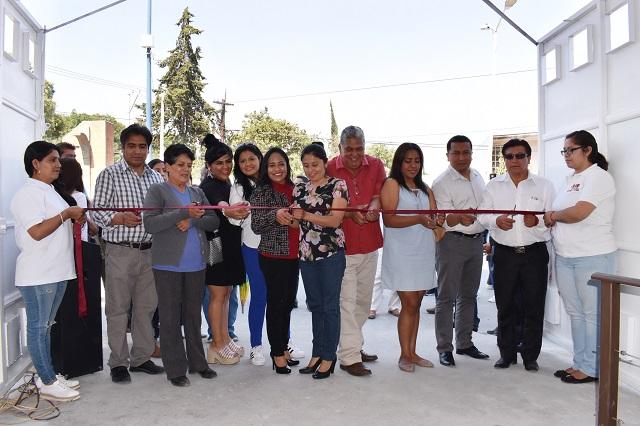 Inauguran en Cuautlancingo el Centro de Servicios Médicos Sanctórum CSM