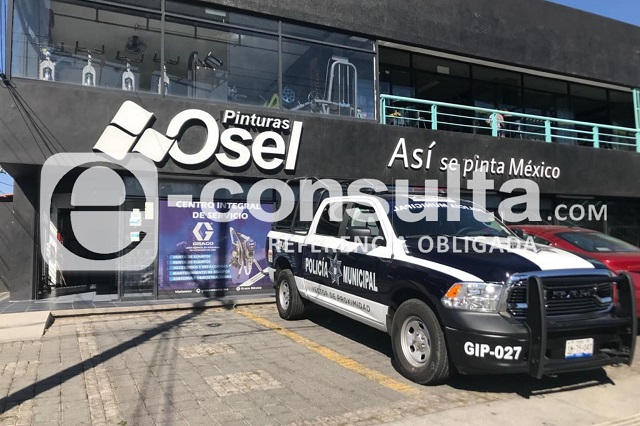 Al mismo tiempo asaltan Osel y CFE en el sur de Puebla