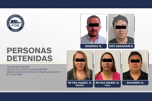 Detienen a esposa e hija de Jorge Wade en Puebla por narcomenudeo