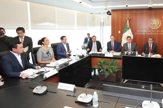 En revisión del Acuerdo Comercial Senado cuidará soberanía: Monreal