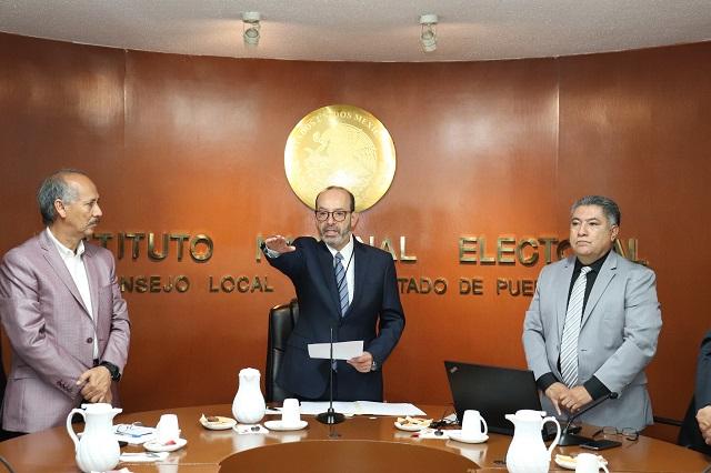 Regresa Marcos Rodríguez como delegado del INE en Puebla
