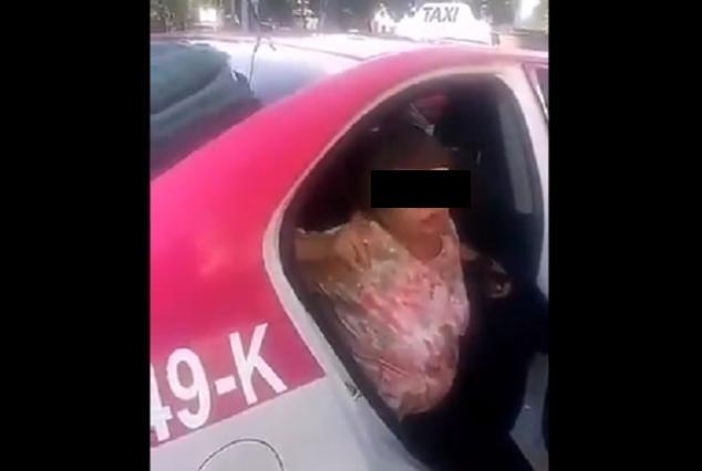 Lady Muertos: Mujer no paga taxi porque dice hay un cadáver en la cajuela