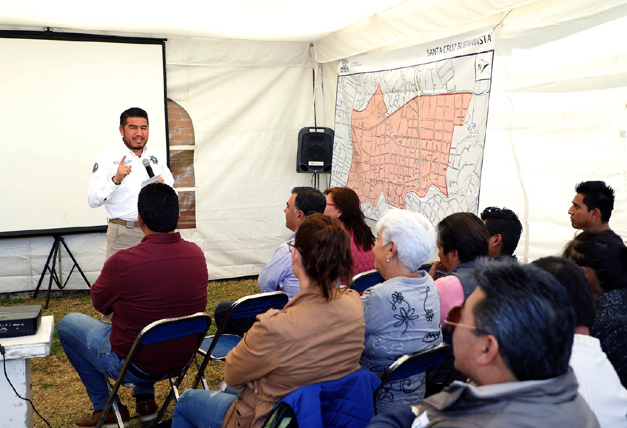 Ayuntamiento de Puebla mejora seguridad en Santa Cruz Buenavista