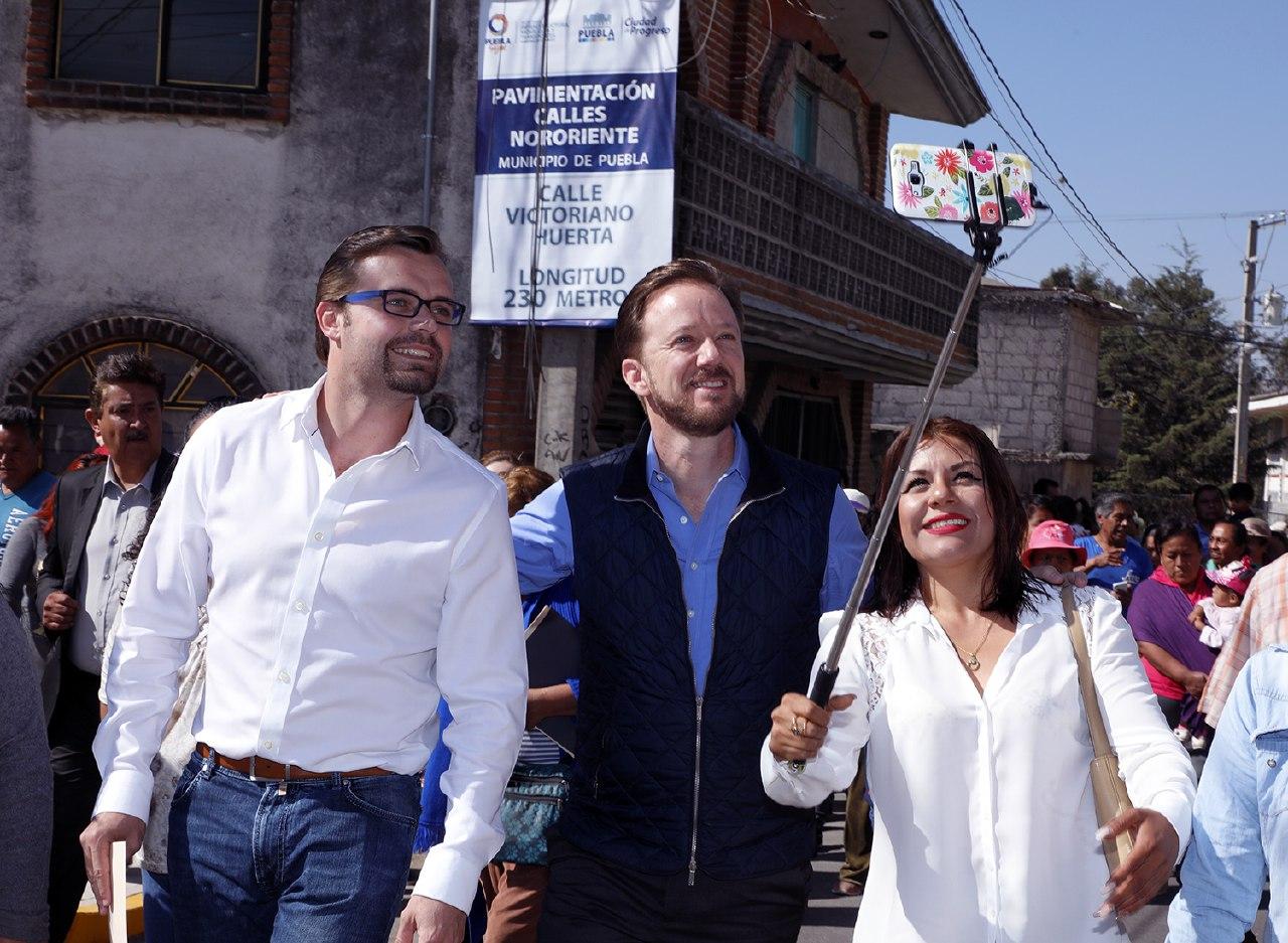 Gobiernos de Gali y Banck benefician a 28 mil personas con pavimentación