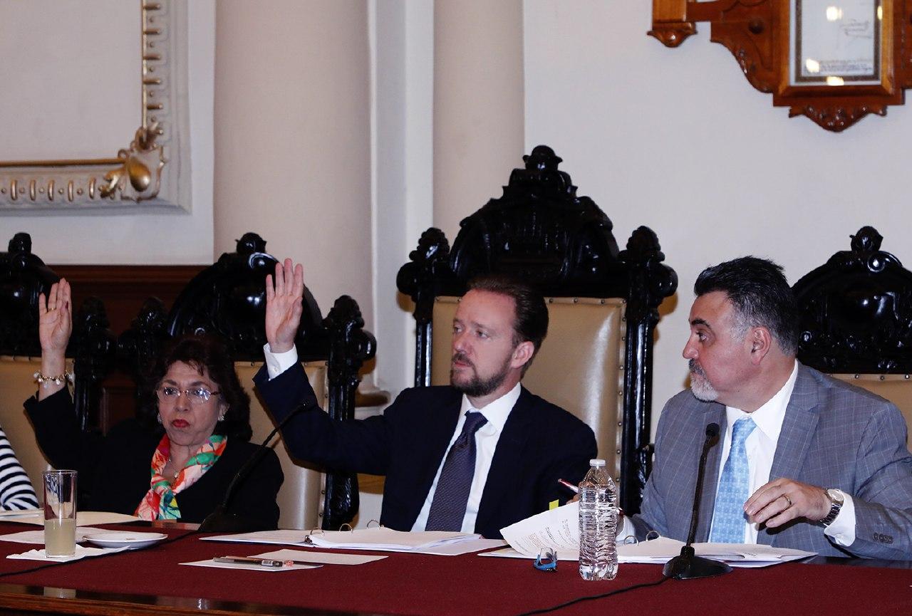Sesión Ordinaria de Cabildo de Puebla aprueba cambios en comisiones
