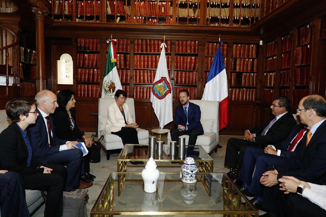 Puebla capital refuerza intercambio comercial con Francia