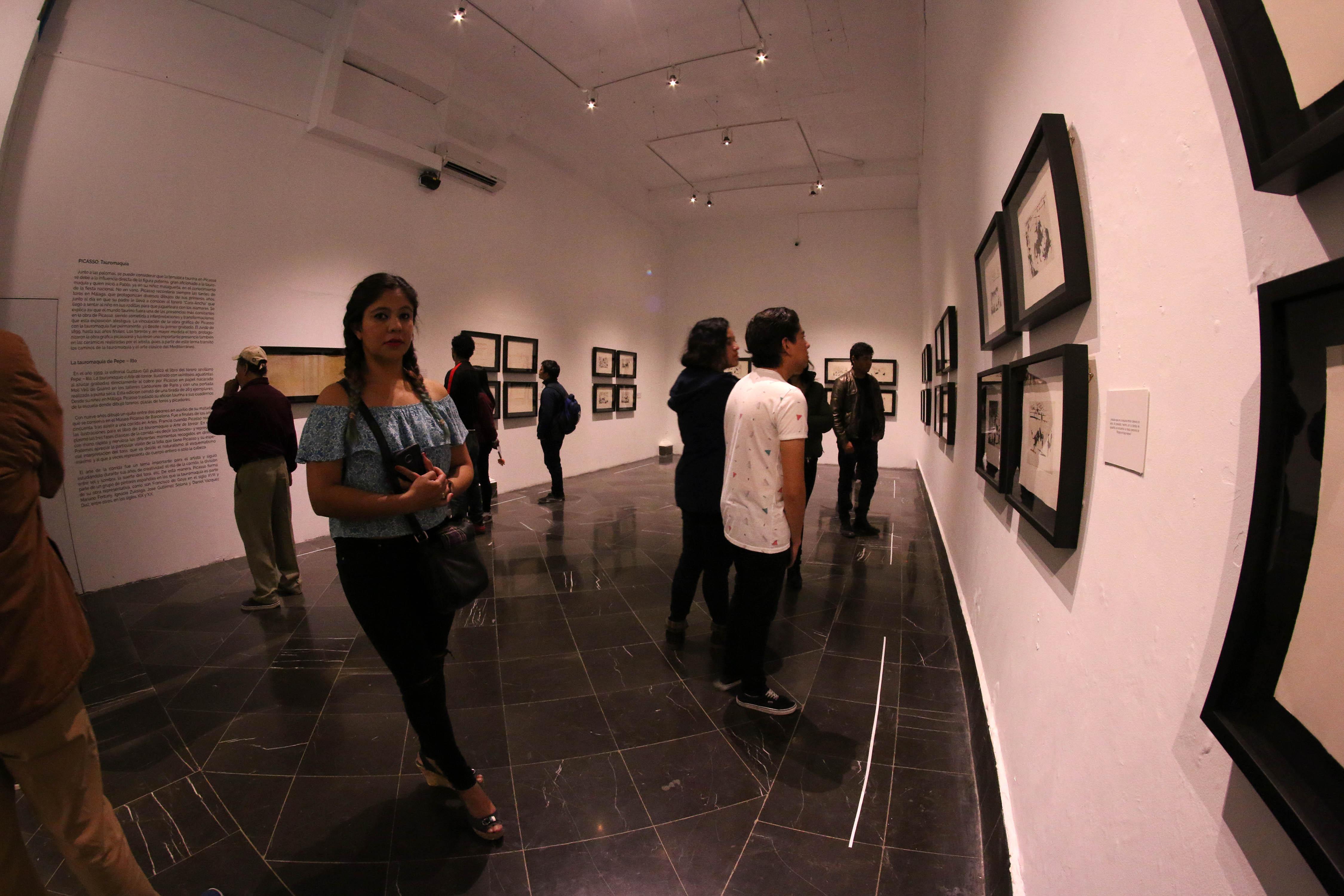 La exposición Picasso, la estela infinita, estará abierta hasta marzo