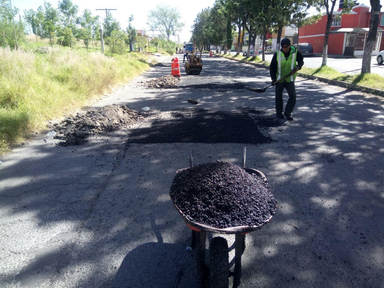 Atiende Ayuntamiento reportes de baches en Maravillas