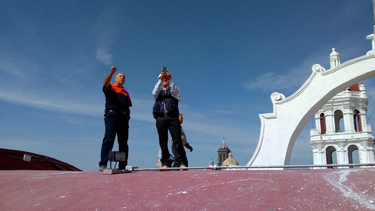 Concluye Protección Civil revisión de inmuebles en Puebla capital