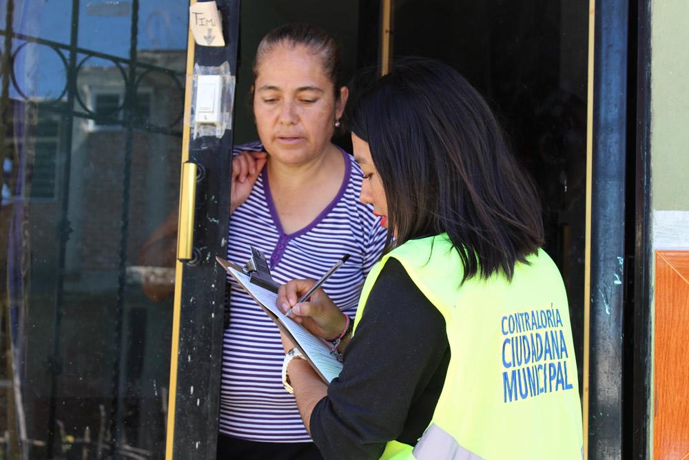 Contralores Ciudadanos verificaron obras en zonas de la capital poblana