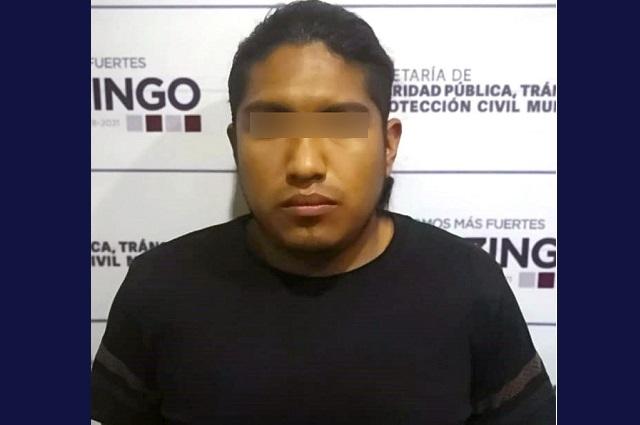 Capturan en Huejotzingo a presunto asaltante de Oxxo