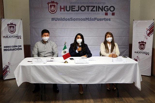 Apoya Angélica Alvarado reencuentro de familias de México y EU