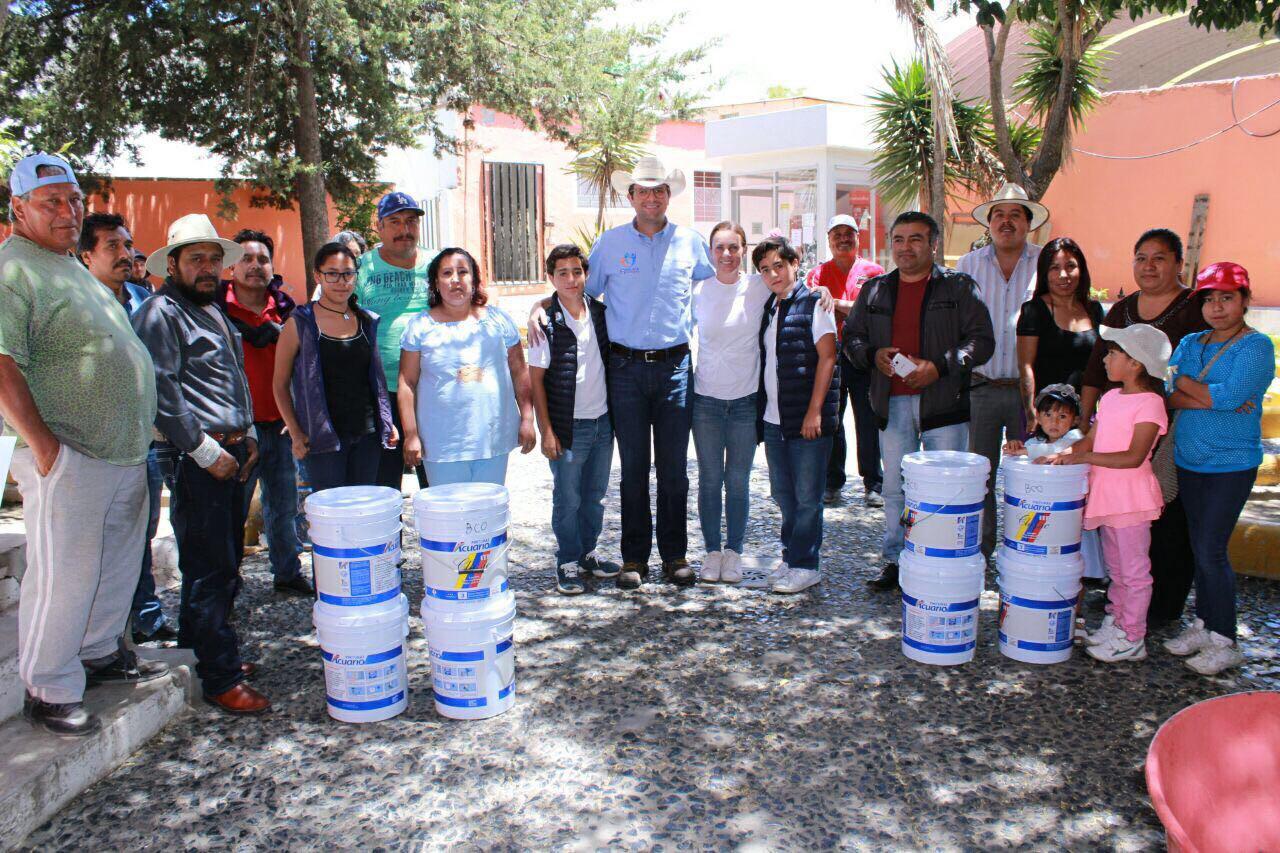 Acude Juan Pablo Piña a Teziutlán, Guadalupe Victoria y Saltillo La Fragua