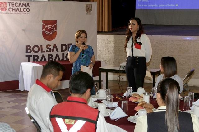 Ayuntamiento de Tecamachalco lanza el Programa Bolsa de Trabajo
