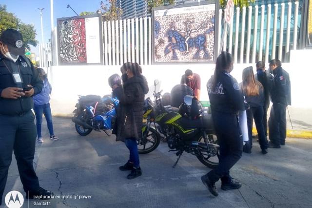 Aguardan audiencia policías acusados de homicidio, en Puebla