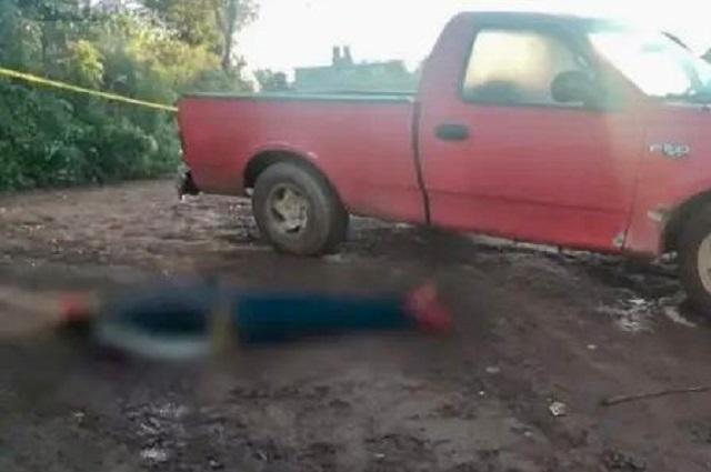A balazos matan a joven en Zacatlán tras discusión