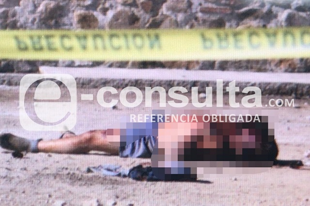 Dos cadáveres con huellas de violencia aparecen en Amozoc