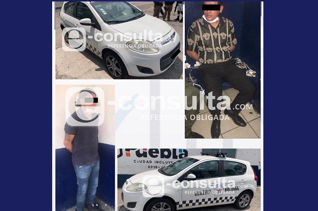 Llevaban auto con falsos logos de la Guardia Nacional