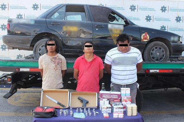 Sujetan a investigación a asaltantes de tiendas Oxxo
