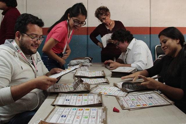 Recupera Barbosa 32 mil votos tras cómputos distritales: Morena