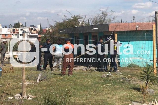 Mujer incendia casa con su pareja dentro, en Puebla