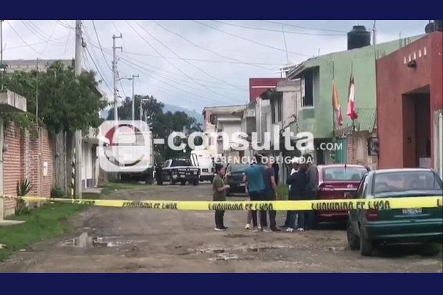 Abandonan restos humanos en Jardines de Amalucan en Puebla