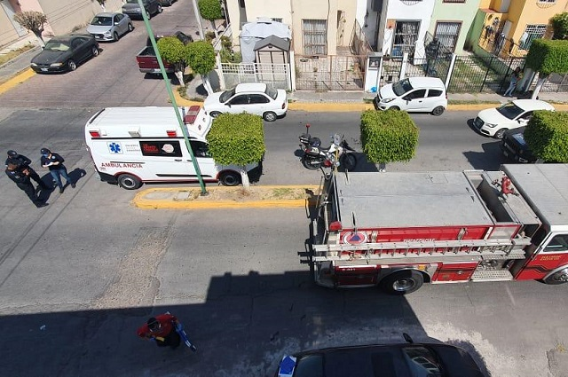 Paciente psiquiátrico intentó  suicidarse en San Andrés Cholula