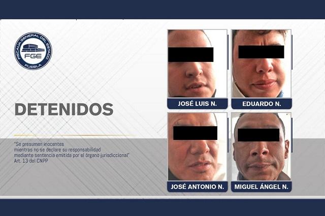 Achacan 3 delitos a detenidos en Lomas de Angelópolis