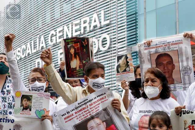 Acapara Puebla capital la mitad de desapariciones en el estado