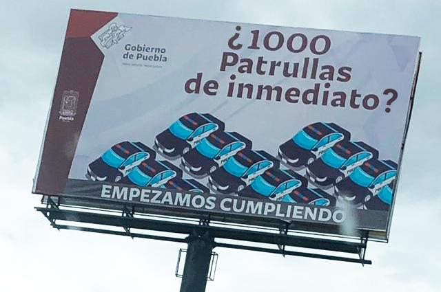 Queda desierto el concurso para rentar mil patrullas en Puebla