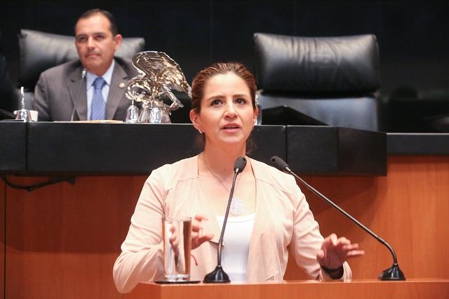 Política de drogas integral sin  enfoque prohibitivo, propone senadora Tagle